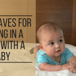must-haves for staying in a hotel with a baby