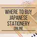Where to Buy Japanese Stationery Online