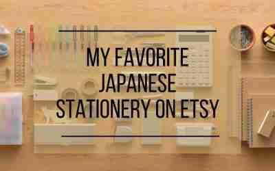 My Favorite Japanese Stationery on Etsy