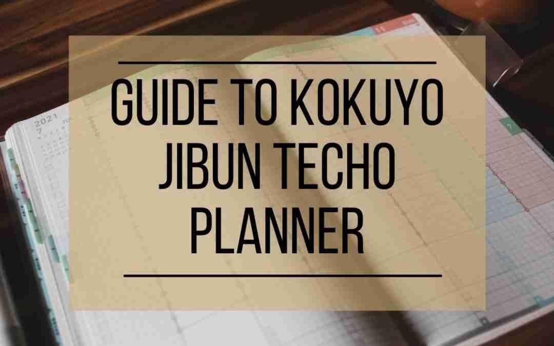 Guide to the Kokuyo Jibun Techo