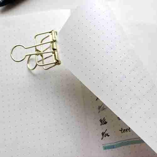bullet journal blank